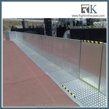 Aluminum Crowd Control Barrier Display Crowd Barrier