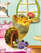 2015 romance bonito 3d retrato dos desenhos animados para crianças