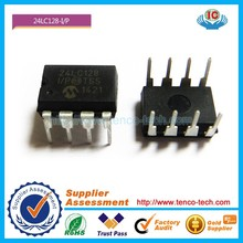 100% good quality IC 24LC128-I-P