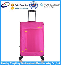 600d fabric trolley luggage set / cheap price free sample luggage / cheap designer luggage sets