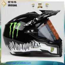 ABS DOT Bluetooth Dual Sport Helmet Motorcycle