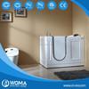 CUPC certificate portable walk in bathtub Q380 whit shower