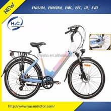 2015 Hot Hidden Battery Powered Electric Bike Fashionable E Bike