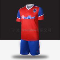 Buy Sportswear in China 2015 Custom Team Soccer Uniforms Kit