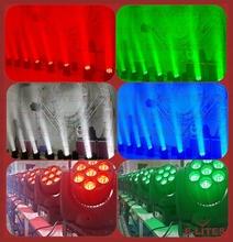 martin led wash moving head light, color wash light rotatation, 7x12w beam