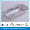 Rectangular disposable aluminum containers with FDA certificate