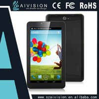 Android 7 Inch Tablet Pc 3g Gps Bluetooth Wifi Dual Core Leather Cover Fm 0.3m/2.0 Camera