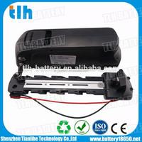 Downtube 36v 15ah ebike li ion battery with charger