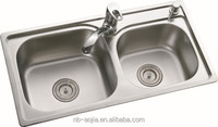 304 stainless steel kitchen sink for hotel
