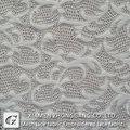 2015 blanco de alta calidad del cordón de tela para vestido de fiesta