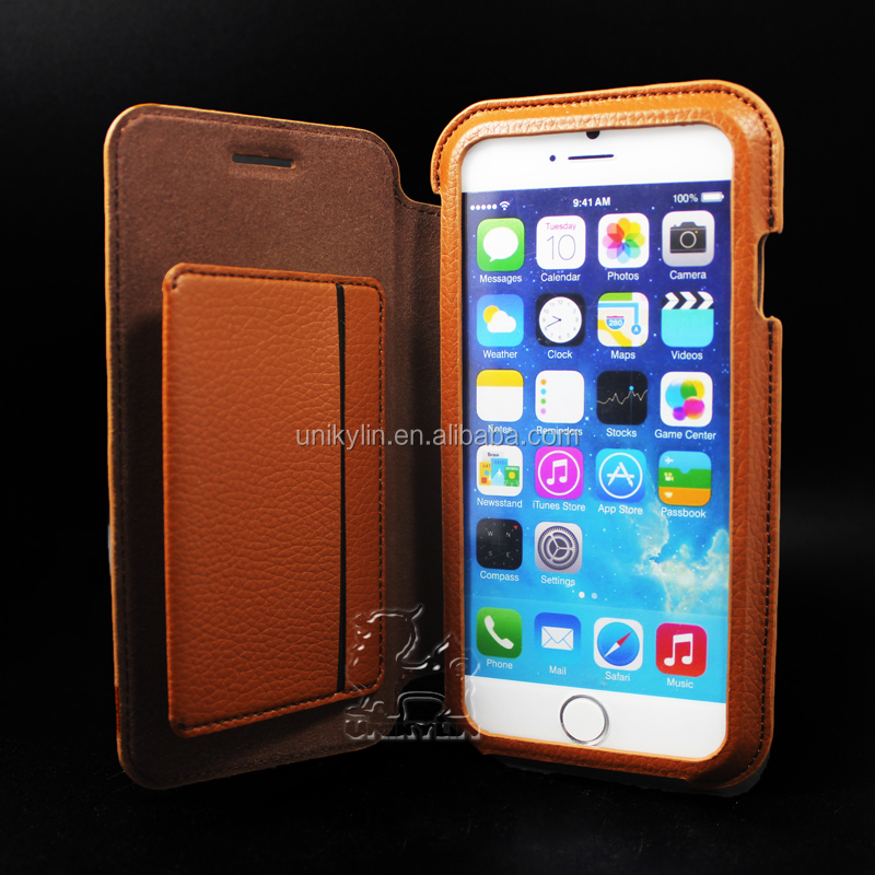 2015 latest hot Leather cover and case for iphone 6 case wallet leather for iphone 6 case
