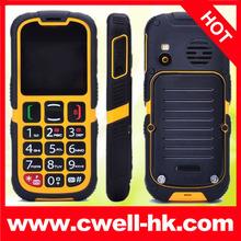 rugged Senior Citizen Mobile Phones with protection ip67 V705 Dual SIM Card SOS Alarm Camera FM Radio Big Battery