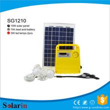 camping economical dc solar systemgenerator