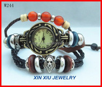 Japan Movt Quartz Watch Stainless Steel Back Jewelry Set
