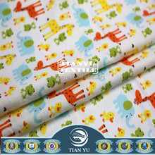 Fantasy Cartoon Pattern Brushed Printed Cotton Flannel Fabric Baby Pajama Fabric
