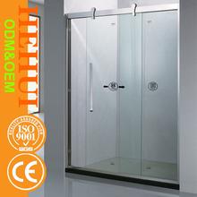 HZ-6807 acrylic tray simple shower enclosure telescopic shower enclosure and custom made shower enclosure