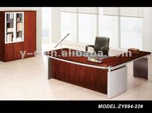New modern 2013 fashion style MDF + Poly decoration executive office furniture table desk design