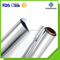 100% response rate aluminum film, aluminized mylar film, heat sealing metallized polypropylene film