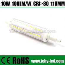 Dimmable smd2835 78mm 118mm 135mm 189mm led r7s 360 Degree Beam Angle
