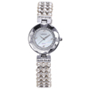 W4790 Silver Color Chain Pearl 2015 latest new model women watch