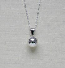 Not Allergic Stainless Steel 316L Material Ball necklace For Baby Charm Gift