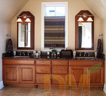 China manufacture Raised panel frameless bathroom cabinet bathroom accessory