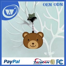 Teddy bling bear gift keychain Bluetooth Tracker for iPhone