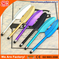 The feather pen smartphone for promotion or wedding
