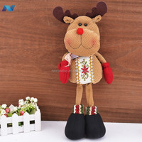 Lovely Santa Claus Reindeer Christmas Decorative Snowman Statue Ornaments