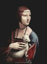 Lady with an Ermine oil painting by Vinci