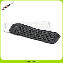 Slim Mini foldable Bluetooth Wireless keyboard for Smart Phone Laptop and PC