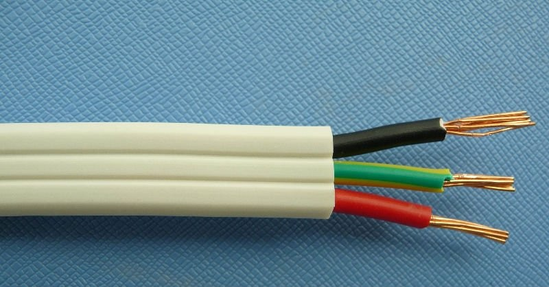 Three Core Flat Cables : Core tps cable mm twin earth flat saa