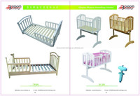 wooden baby cribs/baby bed/baby cots for 2015 promotion