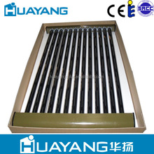 Heat pipe vacuum tube solar collector for solar water heater