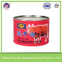 China wholesale high quality beef products canned/corned beef for sale