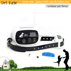 Best Pet Containment Kennel Wireless Electric Temporary Dog Fence from China