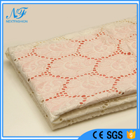 Plastic indian saree lace made in China african fabric lace