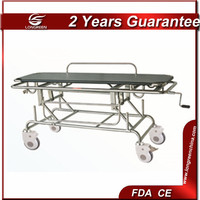 LG-DJC824 Height adjustable stainless steel stretcher to bed transfer