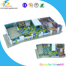High profit Indoor game play zone for children