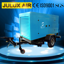 Hot selling super silent type mobile air compressor