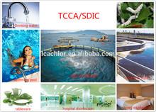 90% available chlorine tablet/Trichloroisocyanuric Acid(TCCA)/granules/powder/tablet