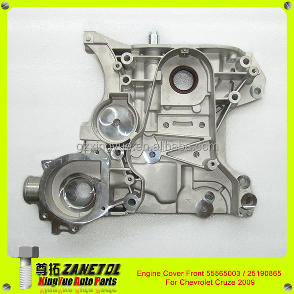 Auto oil pump with water pump cover for chevrolet cruze 09 for Chevy cruze motor oil