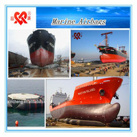 High Buoyancy Ship Salvage,Hoisting And Moving Rubber Airbag