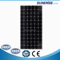 all balck cell balck solar panel mono 180w 60cells photovoltaic panel
