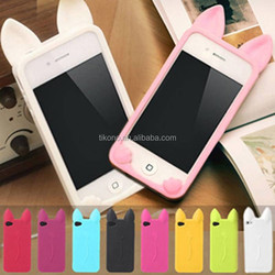 new style cute Ear Cat Case For IPhone 5s phone cases ear can open screen