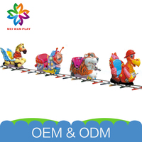 Factory Price Amusement Park Electric Toys New Design Real Trains For Sale