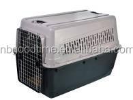 Pet carrier , plastic pet carrier , pet travel cage