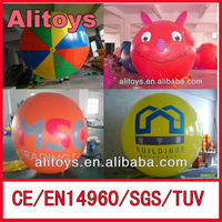 cheap advertising inflatable helium air balloon for sale