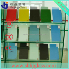 manufacturer 3MM to 6MM Double Coated Opaque White Glass / White Back Painted Glass for interior decorations