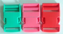 25mm(1'') colored quick release plastic buckle for sale